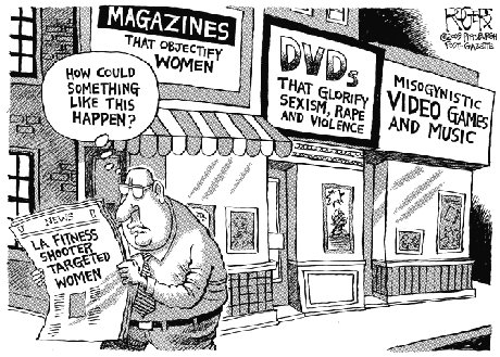 Misogyny and murder rape cartoon