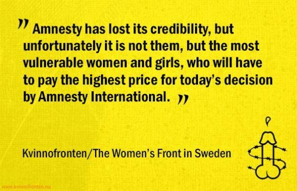 amnesty sweden womens front