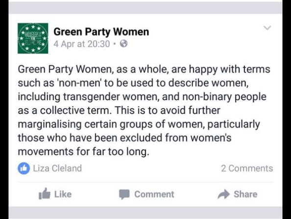 non men green party